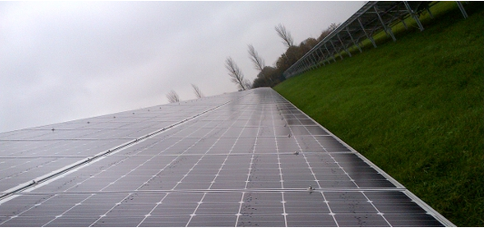 Puriton West Photovoltaic Project - Via pv-magazine.com