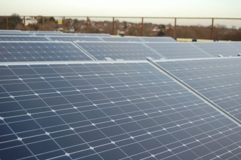 Grays Shopping Center Solar Panels Installation