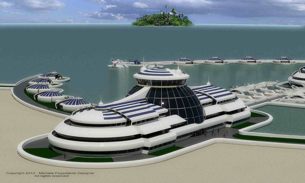 Michele Puzzolante Solar Floating Resort1 1024x613 The Solar Floating Resort is almost a reality